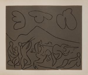 LC - Bacchanale by Pablo Picasso