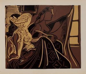 LC - Deux femmes près de la fenêtre by Pablo Picasso
