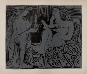 LC - Deux femmes by Pablo Picasso