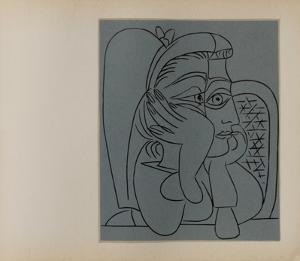 LC - Femme accoudée by Pablo Picasso