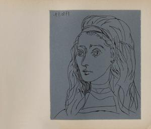 LC - Jacqueline by Pablo Picasso