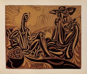 LC - Les vendangeurs by Pablo Picasso