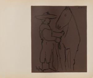 LC - Picador et cheval by Pablo Picasso