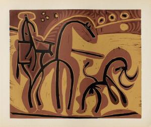 LC - Picador et taureau by Pablo Picasso