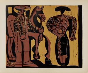 LC - Picador et torero by Pablo Picasso