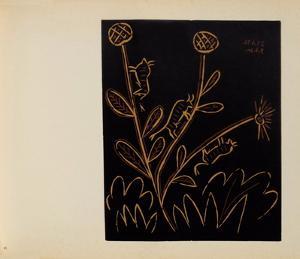 LC - Plante aux toritos by Pablo Picasso