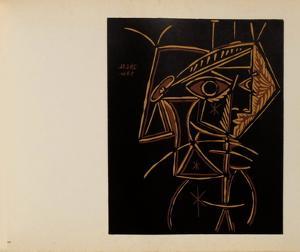 LC - Tête de femme by Pablo Picasso