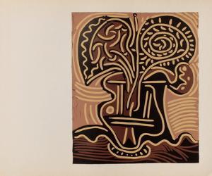 LC - Vase de fleurs by Pablo Picasso