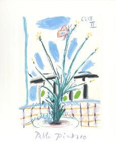 Le Bouquet by Pablo Picasso