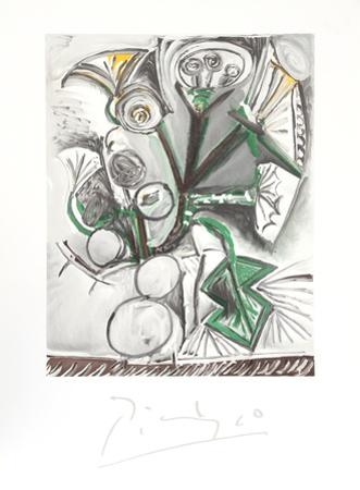 Le Bouquet by Pablo Picasso