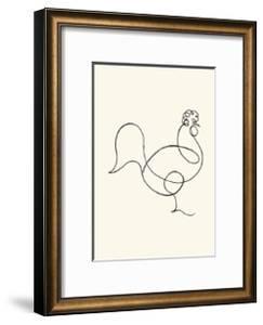 Le coq, c.1918 by Pablo Picasso