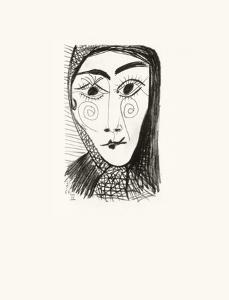 Le Goût du Bonheur 37 by Pablo Picasso