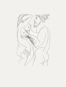Le Goût du Bonheur 60 by Pablo Picasso