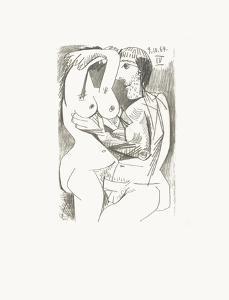 Le Goût du Bonheur 71 by Pablo Picasso