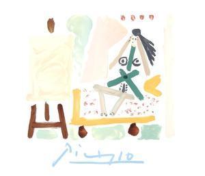 Le Modele Dans L'Atelier by Pablo Picasso