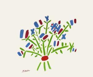 Le petit bouquet by Pablo Picasso