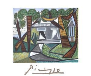 Le Verte Galant by Pablo Picasso