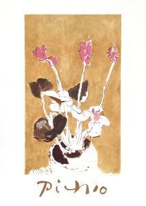 Les Cyclamens by Pablo Picasso