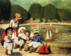 Les Tuileries by Pablo Picasso