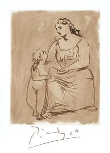 Maternite by Pablo Picasso