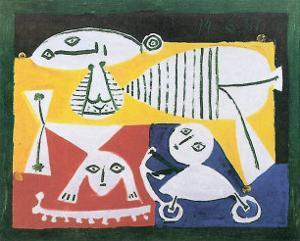 Mere et Enfants, 1951 by Pablo Picasso