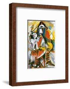 Musketeer and Cupid, c.1969 by Pablo Picasso