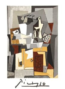 Nature Morte a la porte et a la clef by Pablo Picasso