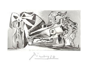 Nature Morte a la Tete Chevre, Boutei by Pablo Picasso