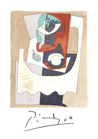 Nature Morte au Gueridon et a l'Assiette by Pablo Picasso