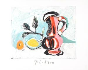 Nature Morte au Pichet Rose by Pablo Picasso