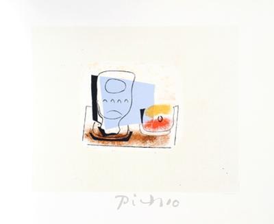 Nature Morte au Verre by Pablo Picasso