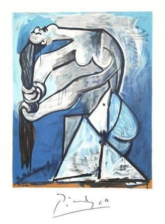 Ne Se Tordant les Chevaux by Pablo Picasso