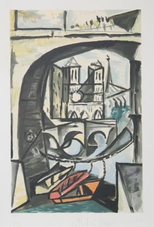 Notre Dame, 17-A by Pablo Picasso