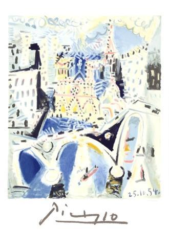 Notre Dame by Pablo Picasso