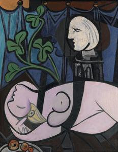 Nude, Green Leaves and Bust, 1932 by Pablo Picasso