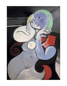 Nude Woman in a Red Armchair, 1932 by Pablo Picasso
