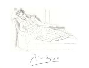 Olga Kaklowa by Pablo Picasso