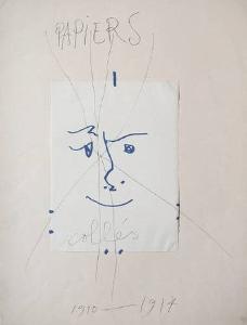 Papiers collés by Pablo Picasso