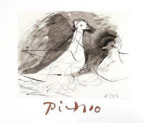 Pigeons by Pablo Picasso