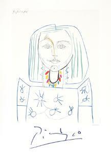 Portrait de Femme au Collier by Pablo Picasso