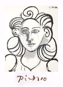 Portrait de Femme by Pablo Picasso