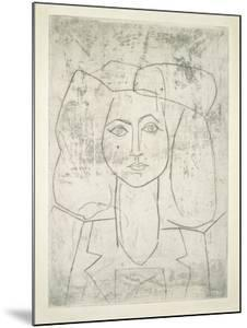 Portrait of Francoise, dressed... by Pablo Picasso