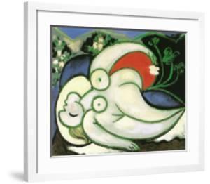 Schlafende Frau by Pablo Picasso