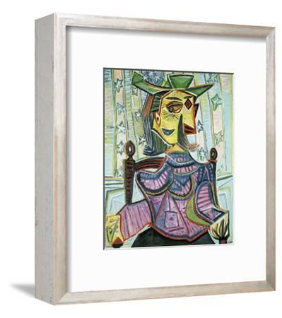 Seated Portrait of Dora Maar