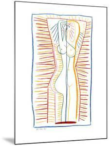 Standing Female Nude II, c.1946 by Pablo Picasso