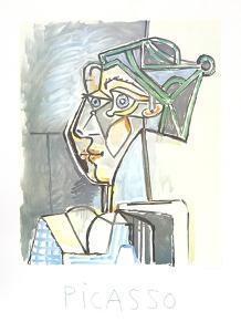 Tete de Femme au Chignon by Pablo Picasso