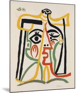Tete de femme by Pablo Picasso