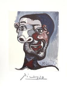 Tete de Homme by Pablo Picasso