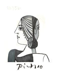 Tete by Pablo Picasso