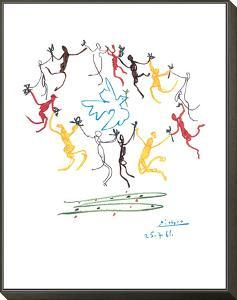 The Dance of Youth by Pablo Picasso